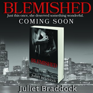 Blemished teaser with book 3d COMING SOON